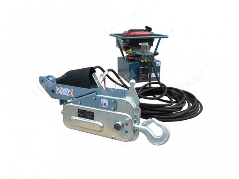 Hydraulic Cable Pulling Machine : Hydraulic tirfor? supertirfor cable pulling machines