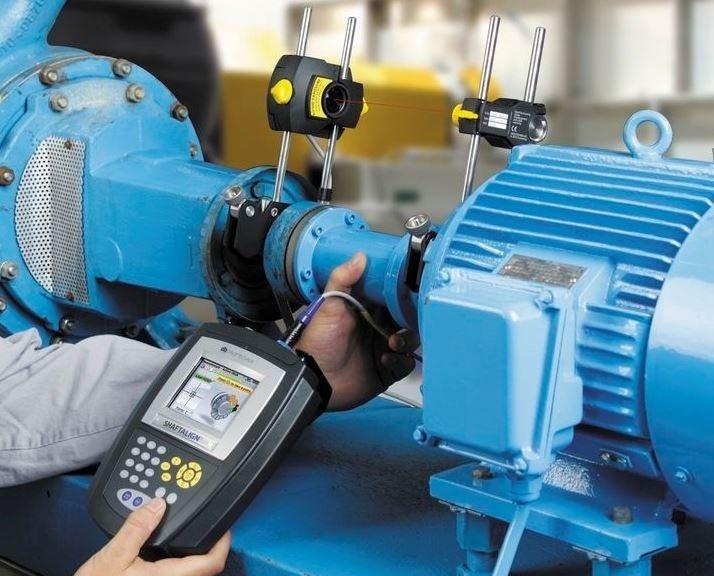 Shaftalign Os3 Laser Shaft Alignment Kit Pruftechnik Iran Shaft Alignment Systems