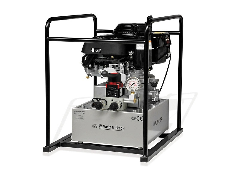 Weitner 700 Bar Gasoline Driven Hydraulic Power Pack