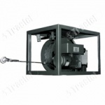 Electronic wire rope winch