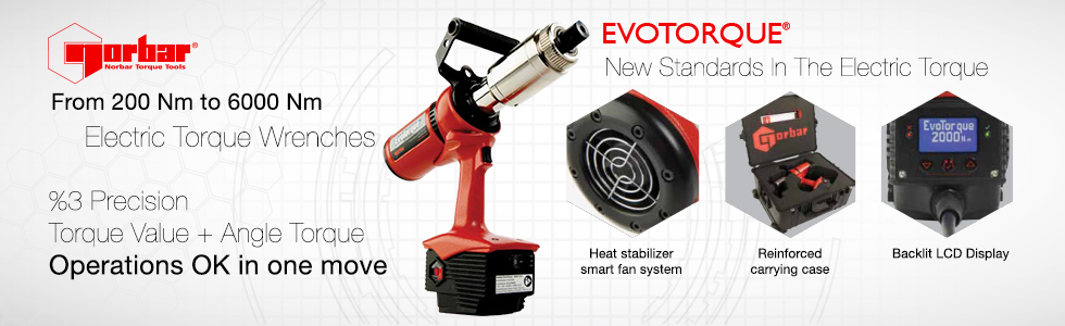 Norbar EvoTorque Electric Torque Wrenches