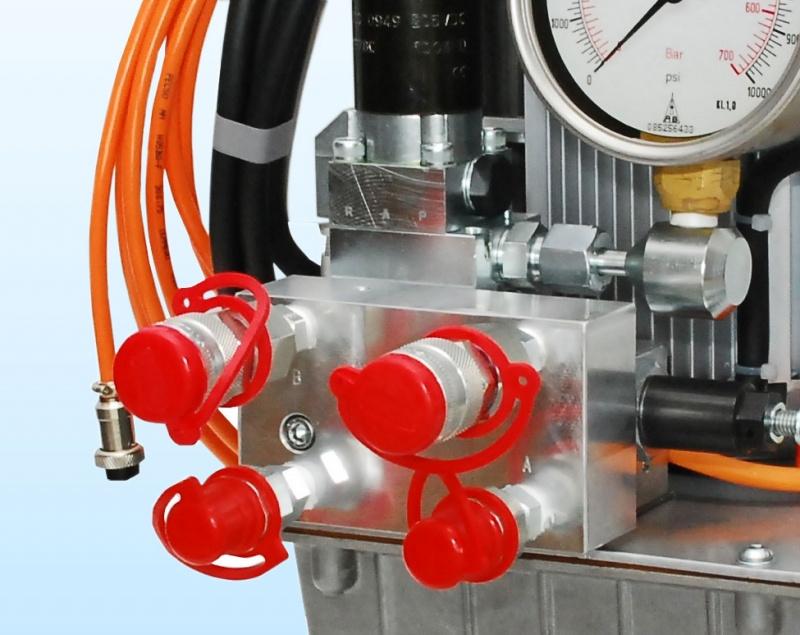 Double Speed Hydraulic Torque Pump Hydraulic Torque