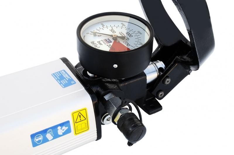 High Pressure Hydraulics : High pressure hydraulic hand pumps