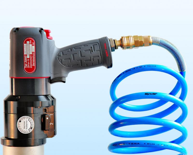 Juwel Torque Wrench >> Juwel Inline Pneumatic Torque Wrenches - Pneumatic torque wrenches
